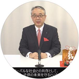 社長メッセージ動画イメージ